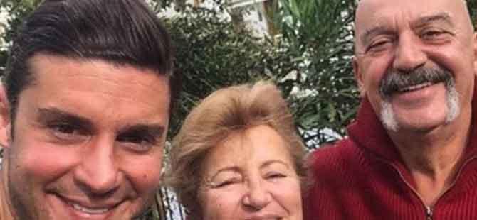 Berk Oktay'ın annesi ve babası